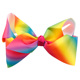 Colorful 7.5cm hair pins big bow tie headband bowknot ribbon butterfly knot hair bows with alligator clips for fashion women