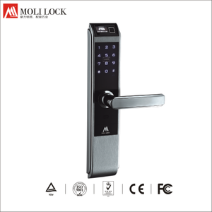Wholesale low price professional Best Smart Card Electronic Password Locks Fingerprint siren alarm Keyless door lock digital