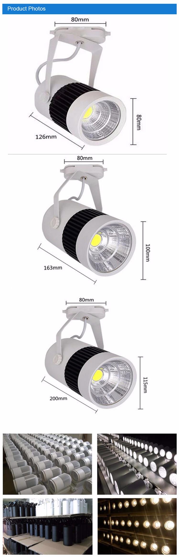 New Design Led Track Nail Light Rgb 30w Cob Wireless Led