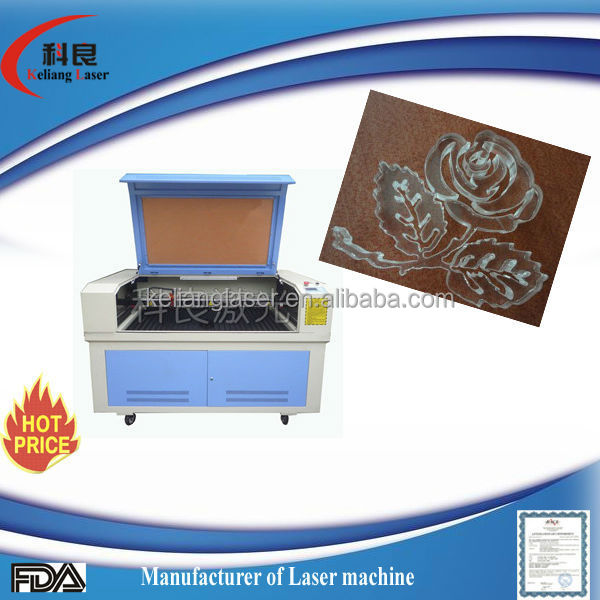 CO2 Laser Type and Water Cooling large scale acrylic KL-1290 Qiancheng 130w laser cutting machine price