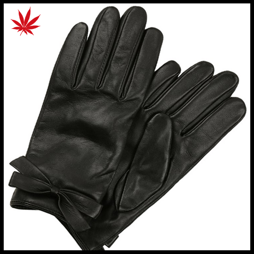 Ladies leather gloves china leather gloves manufacturer