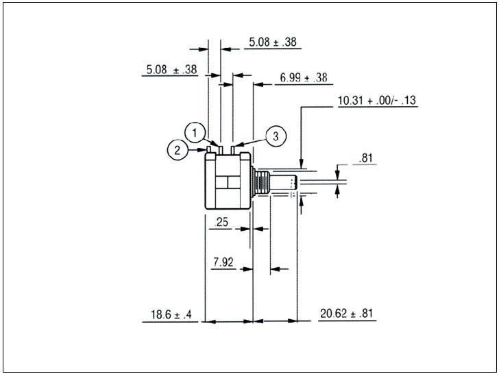Wxd3590 Bochen Precision Multiturn Potentiometer Volume Control  Potentiometers B503 - Buy Volume Control Potentiometers Product on  Alibaba com