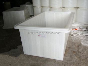 Durable 120litre Stackable Large Plastic Containers For