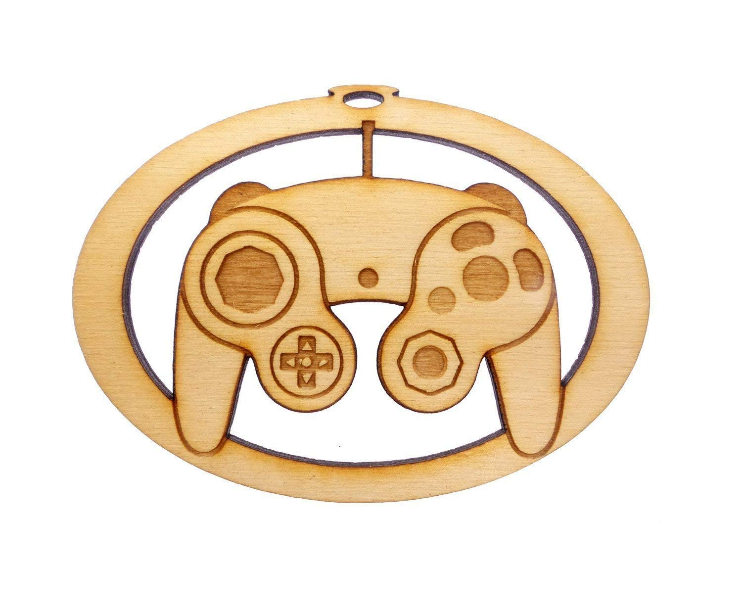 Personalized Classic Game Controller Ornament, Video Game Controller Ornament, Classic Video Game Controller Ornament