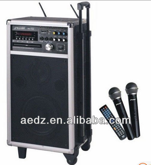 Uhf Portable Pa Speaker System Amplifiers With Dvd/vcd/cd/svcd/mp3 ...