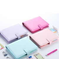 Myway Classic premium 6 ring binder pu leather business notebook