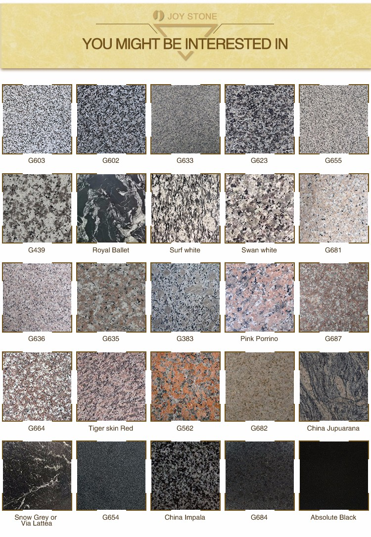 Beautiful Granite Prefab Countertop For House Decoration