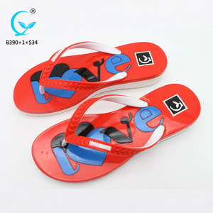 Ladies sandal chappal brand name women foot massage plastic slippers pcu sandals