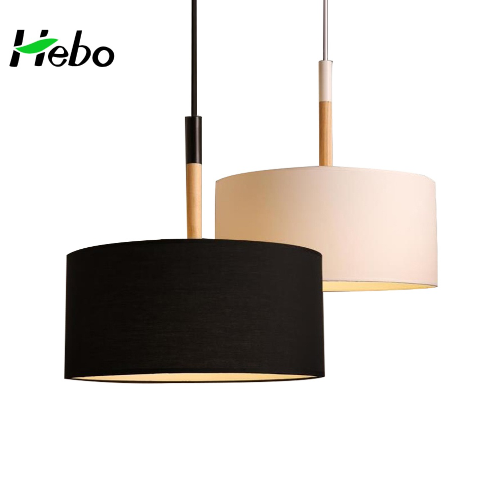 Modern Fabric Lamp Shades Pendant Lamp Fancy Lights For Home ...