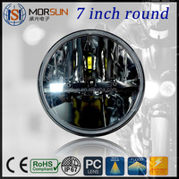 Factory super bright 12v 24v Jeep wrangler 7 inch round led headlight led lights off road motorcycle led driving light
