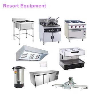 High Quality Kitchen Equipment Resort Restaurant Kitchen Supplies ...