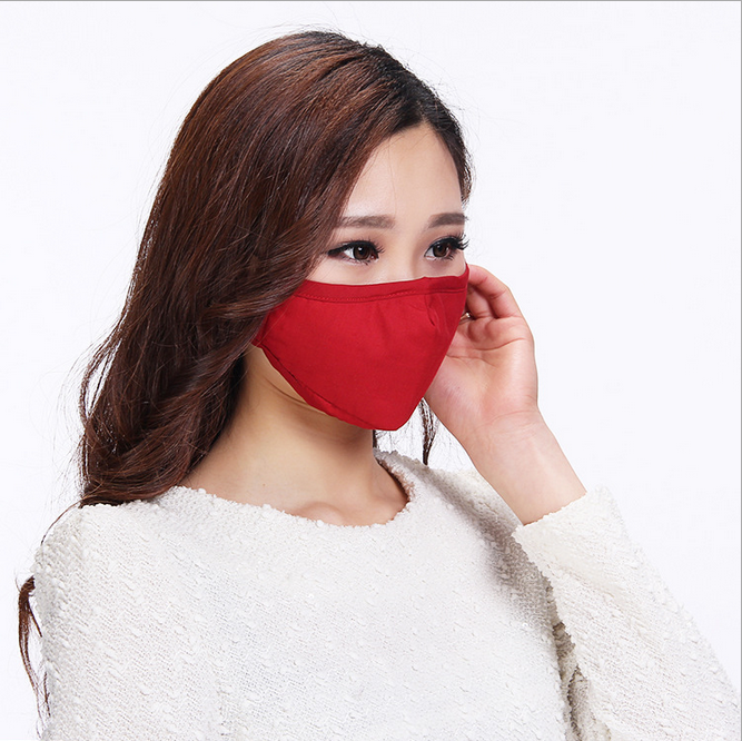 Fashion face mask cotton dust mask colored design mask