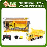 RC Construction Car Toys 4 Channel Remote Control Trucks