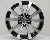 2016 new design replica alloy wheels/car wheels with certificates