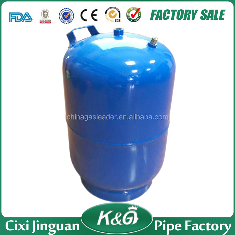Middle east used camping lpg gas cylinder, 2kg colorful gas tank, gas bottle