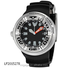 Professional Diver Black Sport Watch