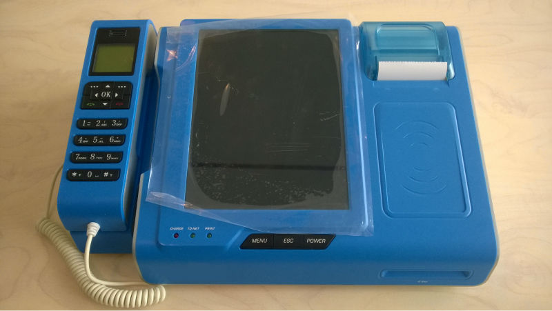 Touch screen pos terminal TS-210 with WIFI/GPS/Bluetooth/WCDMA/EDGE/GSM/USB/UART/Ethernet/printer