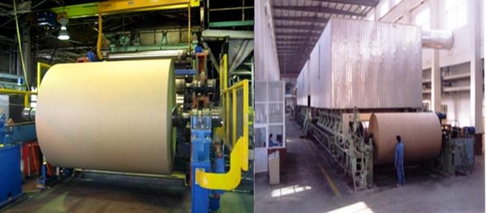 kraft paper corrugated paper making production line