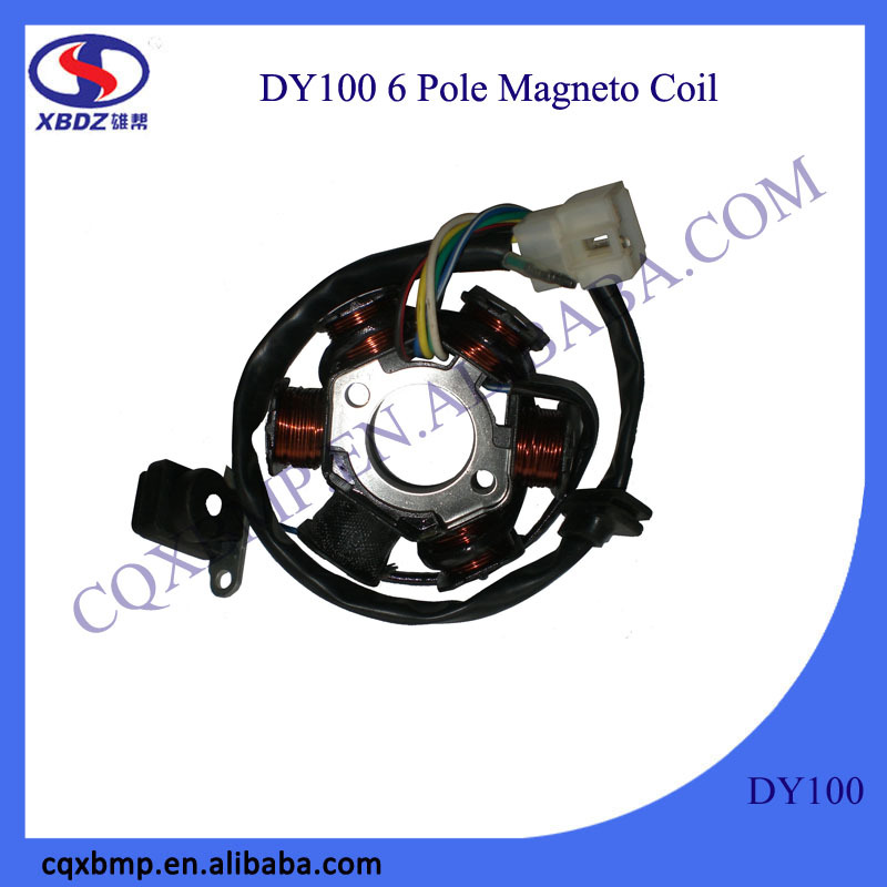 Dayang Motorcycle Parts Manufacturers High Magnetic Induction Magneto Stator Coil