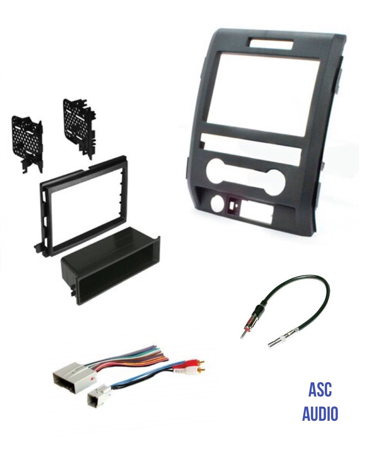 Asc Audio Car Stereo Radio Install Dash Kit Wire Harness And Harmony Antenna Adapter To A