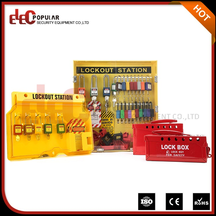 Elecpopular Latest Chinese Products Safe Pad Lock Lockout Tagout Station For Larger Manufacturer