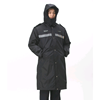 security guard winter long jacket mens