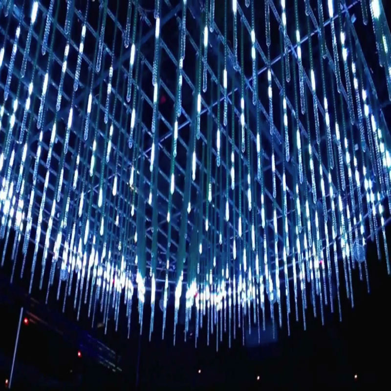 Dmx 3d Ice Tube Crystal Tube Light 3d Effect For Nightclub