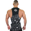 High quality Manufacturer custom gym stringer tank top men with your own designs