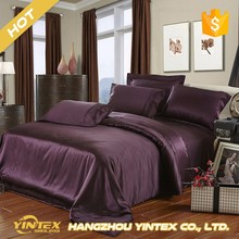 Luxury comfortable adult silk bed sheets