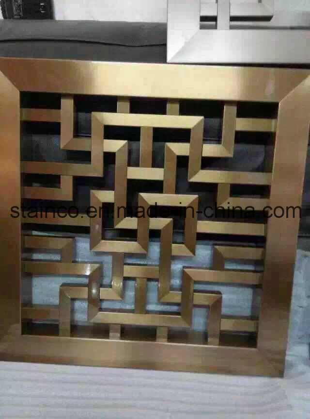 Inexpensive Room Separators Exit Coper: Aluminum 304 Stainless Steel Chinese Carved Screen