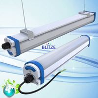 Newest IP65 LED Tri proof 1200mm T8 Vapor tight linear lighting fixture ip65 tri-proof led light