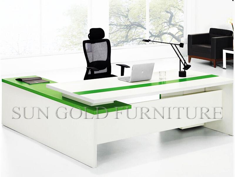 Luxus Executive Bürotisch Spezifikationen Holz Chef Büromöbel Set ...