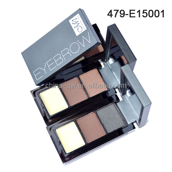 Menow E15001 makeup kit long lasting eyebrow powder with brush