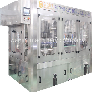 2017 new design fresh milk filling machine milk hot filling production line