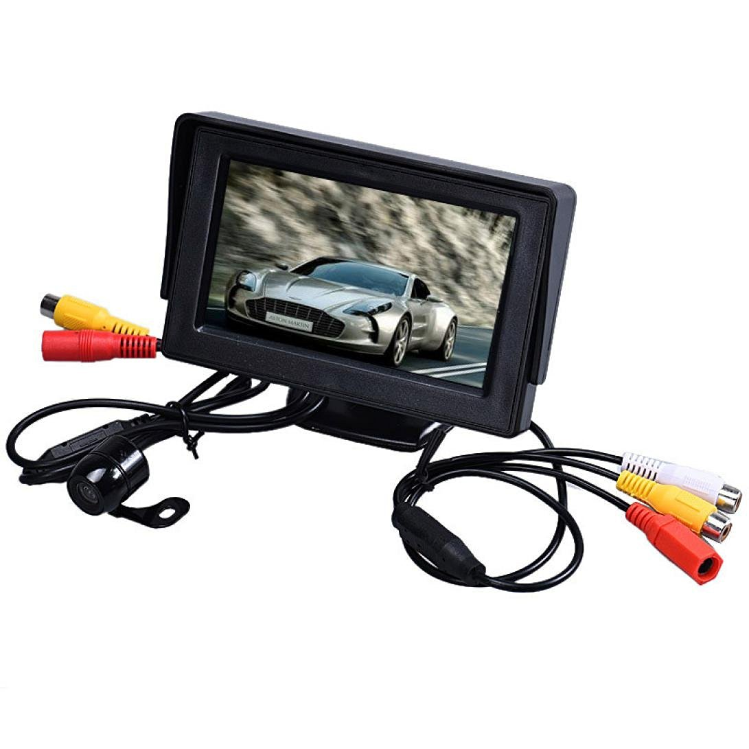 Vision Camera Wireless Hmlai Hot Sale 4.3 Inch TFT LCD Monitor + Car Reverse Rearview Back Up Camera Parking Wireless Kits Asian