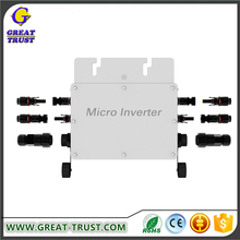 Home used micro grid tie inverter with mc4 connectors micro solar inverter grid tie 200w kit