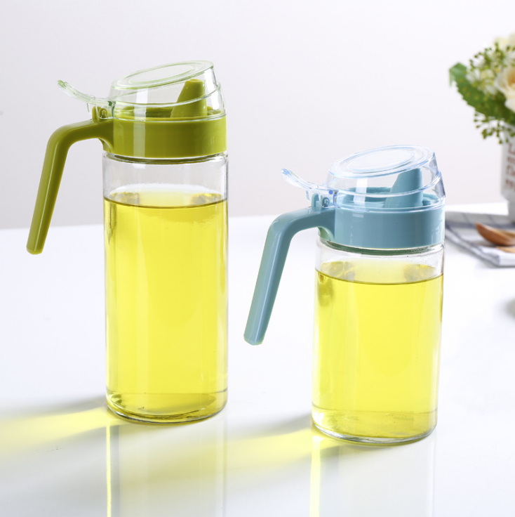 500ml cooking edible olive oil and vinegar borosilicate glass bottle