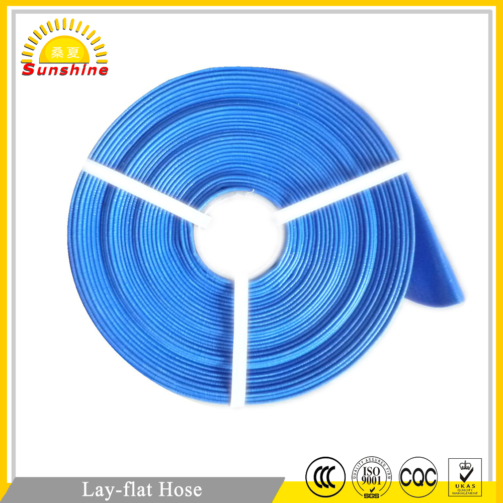 OEM Plastic Flexible Middle Pressure Pvc Lay Flat Water Irrigation Tubes