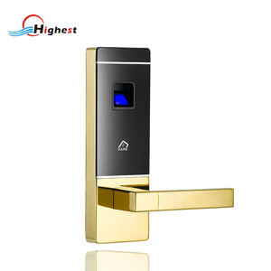 lock with biometric fingerprint security lock system for access control
