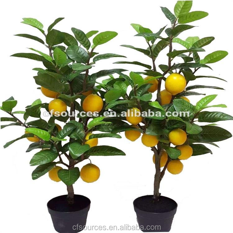 2017 High Quality New Product Artificial Plant Artificial Lemon Tree