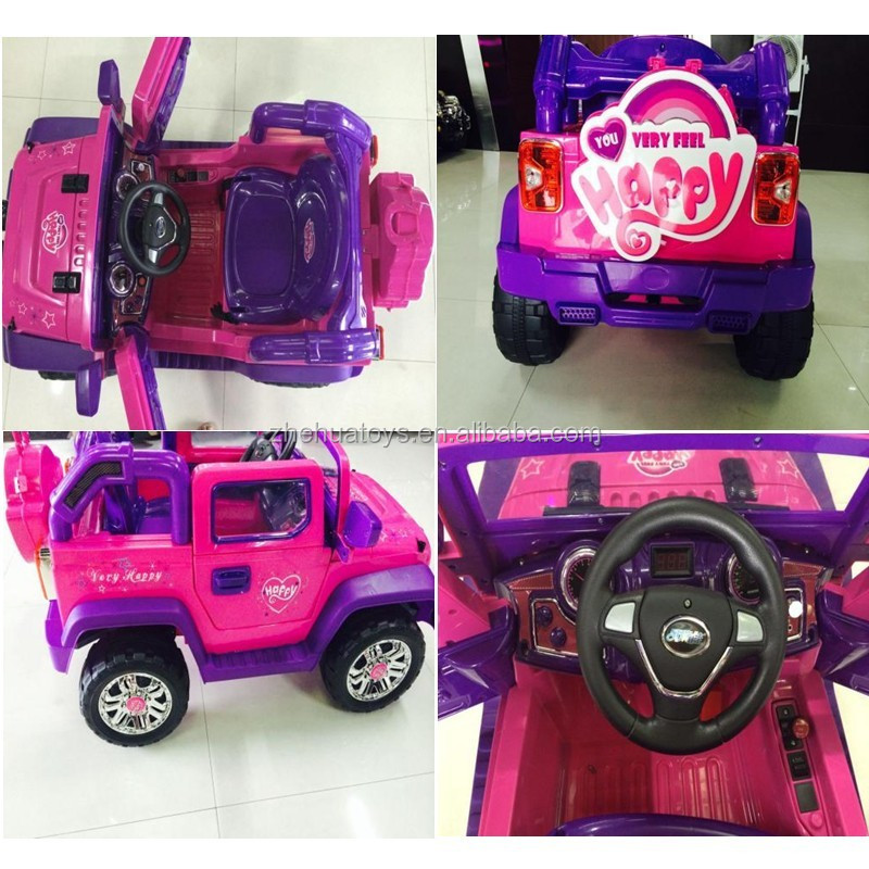 cool children ride on jeep car big car cheap plastic toy car for kids to drive