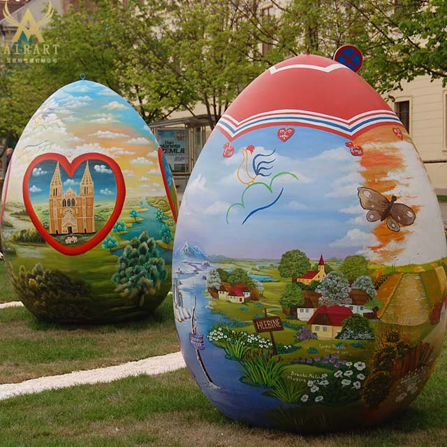 Bespoke Inflatable Easter Balloons Giant Inflatable Easter Eggs For