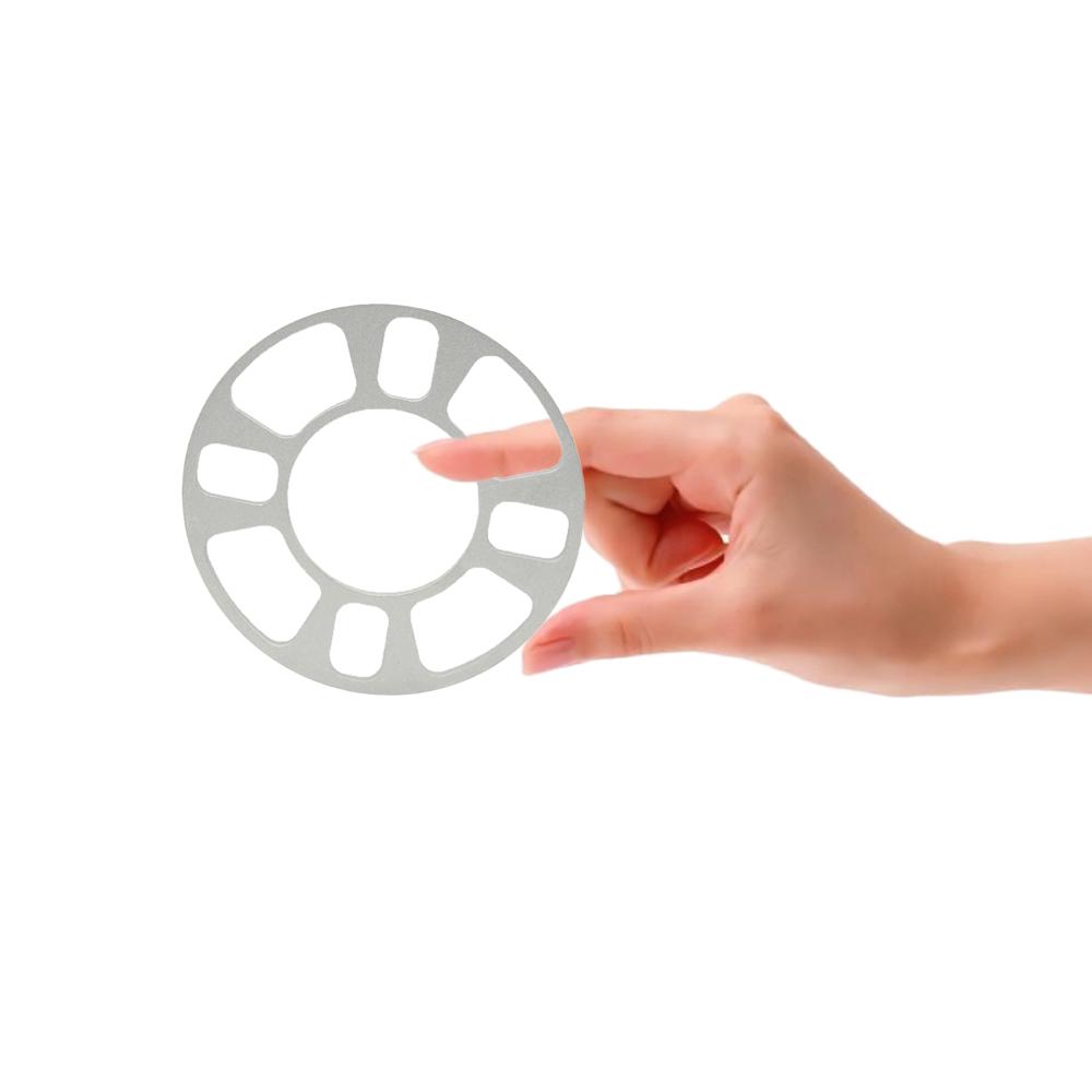 Универсальный колеса адаптер 4 отверстия 8 мм алюминиевые диски Fit 4 4 x 101.6 4 x 108 4 x 112 4 x 114.3 серебряных 8 мм атлас поверхности
