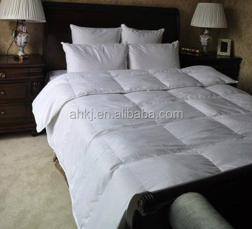 Feather comforter and duvet