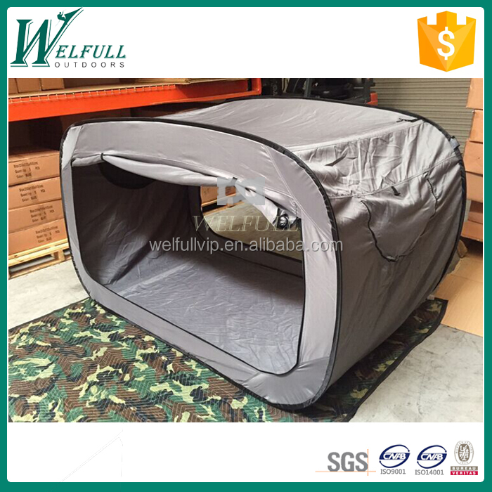 Single pop up bed sleeping tent