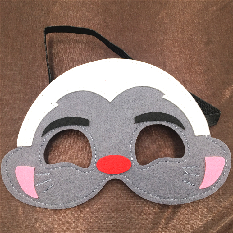 PoeticExst kids Christmas party cosplay custom felt Lion Guard mask