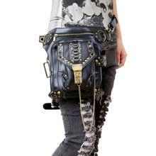 Поясная Сумка Norbinus в стиле ретро, Готическая сумка-мессенджер с черепами, кожаная поясная сумка для мужчин и женщин, сумка-кобура с ремнем(Китай)