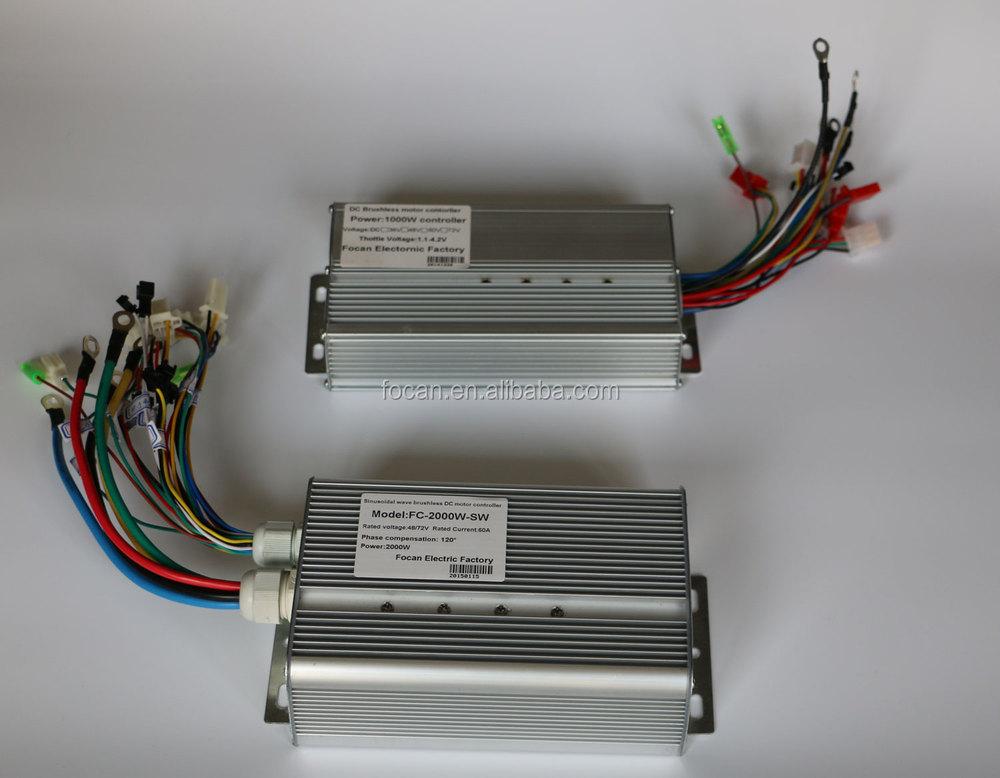 High Quality 24v 36v 48v Brushless Motor Controller With
