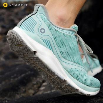 Original Xiaomi Amazfit Antelope Light Outdoor Anti-Slip Sports  Rubber Waterproof /Breathable Smart Running Shoes for Men/Women