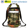 Safety in dark Camouflage Waterproof Dry Bag -Long adjustable Shoulder Strap,Perfect For Camping,Boating,Fishing,Swimming